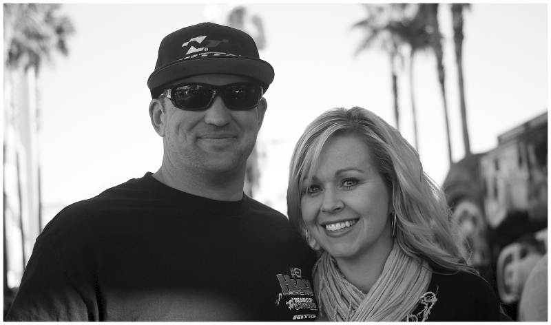 Loren and Savanah at the MINT 400.  Photo credit:  White Collar Publishing.